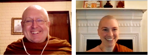 "Ajahn Brahm & Ven Canda: ""Bliss Upon Bliss Upon Bliss: A Deep Dive Into Breath Meditation"""